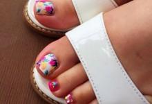 Flower pink Foot ♪