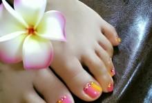 Neon  color  Foot ♪