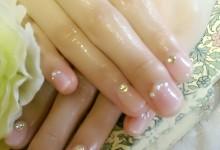 ふんわりcheek nail ♪