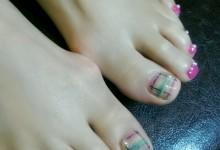 Blanket foot nail ♪
